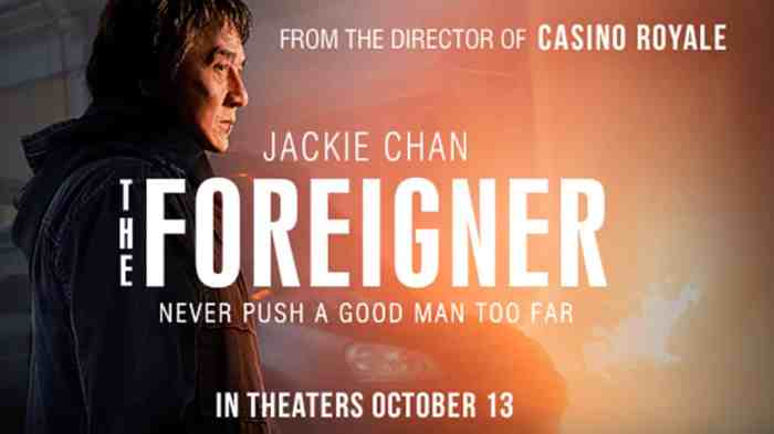 The Foreigner: The Working Man'sTaken